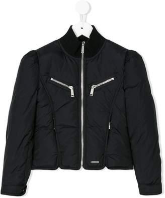 DSQUARED2 paneled padded jacket
