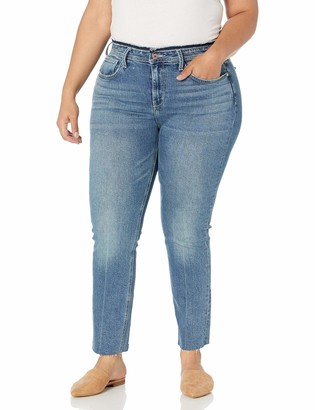 Sam Edelman Women's Misses Kitten Mid Rise Striaght Jean
