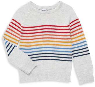 Splendid Little GIrl's Rainbow Stripe Sweater