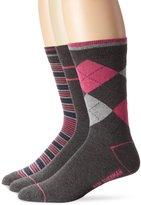 Ben Sherman Men's 3 Pack Albert Pattern Socks