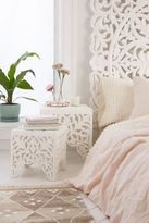 Urban Outfitters Sienna Carved Side Table Set