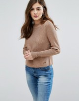 Only Sacramento Cropped Knit Sweater