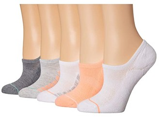 Sof Sole Anti-Friction Performance Footie 6-Pack (Assorted) Women's Crew Cut Socks Shoes