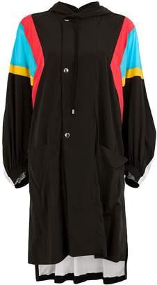 Koché oversized hooded coat