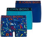 Bjorn Borg LOST SAMMY 3 PACK Shorts surf the web