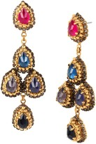 Erickson Beamon Velvet Underground Chandelier Earrings