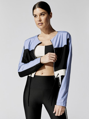 Carbon38 Colorblock Cropped Jacket