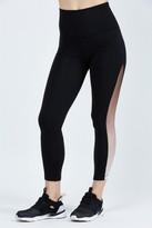 Beyond Yoga Ommmbre Mesh High Waisted Midi Legging