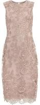 Phase Eight Teresa 3D Metallic Lace Dress