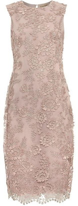 Phase Eight Teresa 3D Metallic Lace Dress