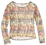 Mossimo Juniors High Low Knit Sweater - Assorted Colors and Prints