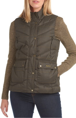 Barbour Kingston Quilted Plaid Vest