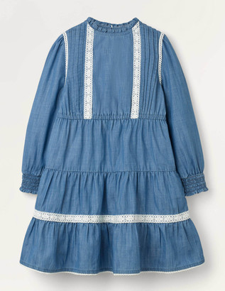 Boden Lace Detail Woven Dress