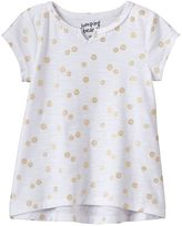 Baby Girl Jumping Beans® Print High-Low Hem Tee