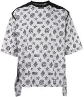 Kokon To Zai monogram print T-shirt - unisex - Cotton - S