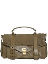 Proenza Schouler - Ps1 Medium Lux Leather Satchel