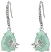 Betsey Johnson Drangofly CZ Drop Earrings