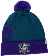 '47 Anaheim Ducks Double Stack Pom Knit Hat
