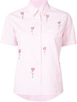 Jimi Roos - Tulip shortsleeved shirt - women - Cotton - S
