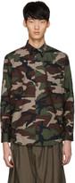 John Lawrence Sullivan Johnlawrencesullivan Khaki Camo Shirt