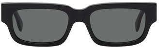 RetroSuperFuture Black Roma Rectangle Sunglasses