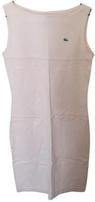 Lacoste Pink Cotton Dress for Women Vintage