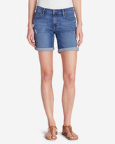 Eddie Bauer Women's Elysian Boyfriend Shorts - Destroyed