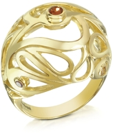 Sho London Gold Vermeil Mari Splash Boule Ring