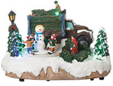 Roman Musical LED Christmas Tree with Truck