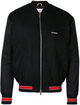 Iceberg Batman embroidered bomber jacket - men - Polyamide/Polyester/Wool - 44
