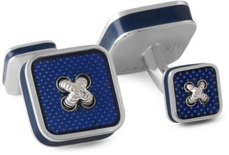 Tateossian Button Ice Square Cufflinks