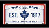 "Steiner Sports Toronto Maple Leafs 10"" x 20"" Kids Cave Sign"