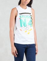 Stussy No. 4 Doodle Muscle T-Shirt