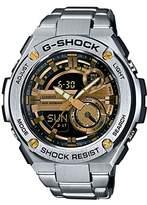Casio Men's Multi-Dial Quartz Watch with Stainless Steel Bracelet GST-210D-9AER