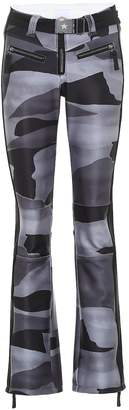 Jet Set Exclusive to Mytheresa a camo-print soft-shell ski pants