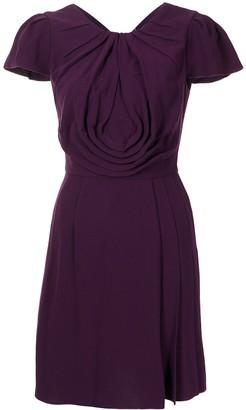 Prada Pre-Owned Drape Detailing Dress