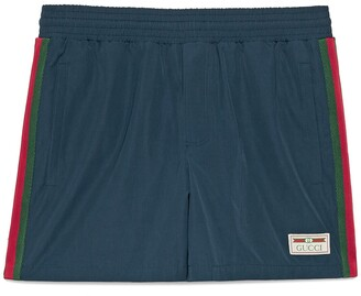 Gucci Swim shorts with label