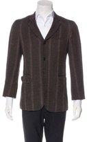 Comme des Garcons Striped Wool Sport Coat