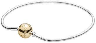 Pandora Essence Collection 14K & Silver Bracelet