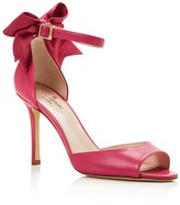 Kate Spade Izzie High Heel Ankle Strap Bow Pumps
