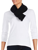 Lord & Taylor Cashmere Knit Scarf
