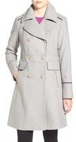 Vince Camuto Women's Wool Blend Double Breasted Officer's Coat