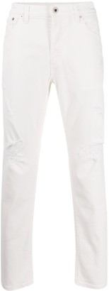 Dondup Low Rise Cropped Skinny Jeans