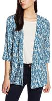 Benetton Women's Patterned Jacket,(Manufacturer Size:42)