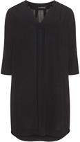 Via Appia Plus Size Crepe dress
