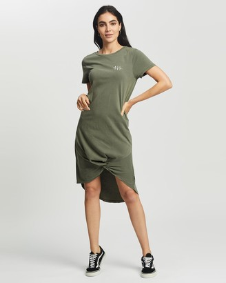 Silent Theory Present Twisted Tee Dress