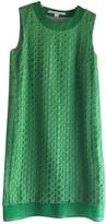 Diane von Furstenberg Green Cotton Dress for Women
