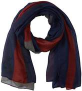 D&Y Women's American Flag Oblong Scarf