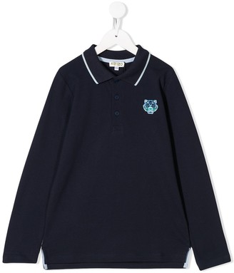 Kenzo Tiger Patch Polo Shirt