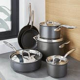 Crate & Barrel Breville ® Thermal Pro Hard-Anodized 10-Piece Cookware Set
